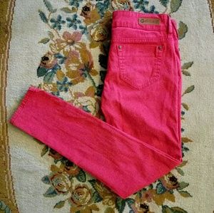 🌷G by Guess Bright Red Skinny Jeans